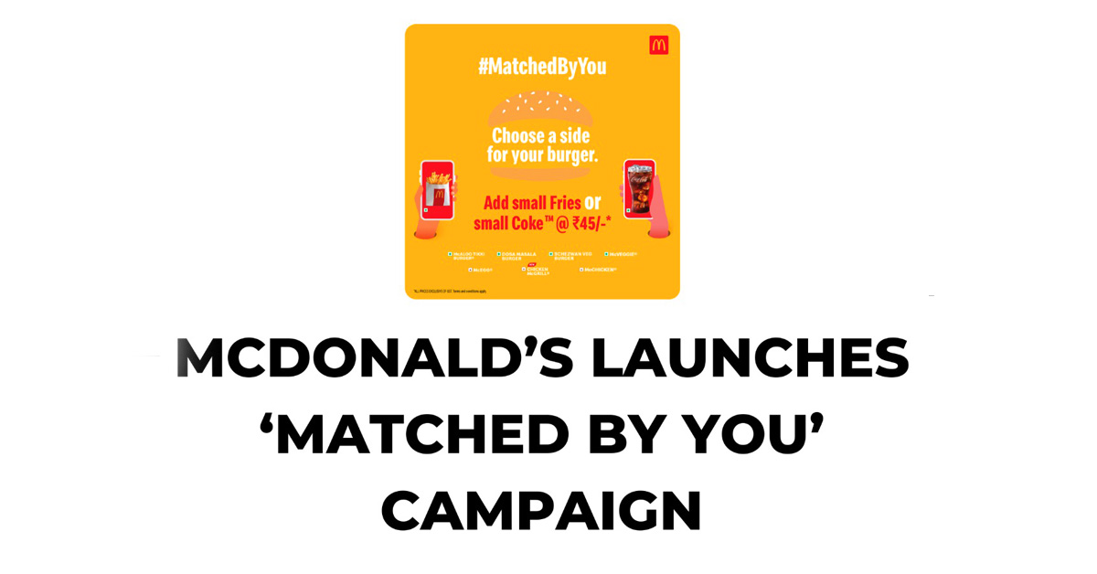 Mc Donald matched by you