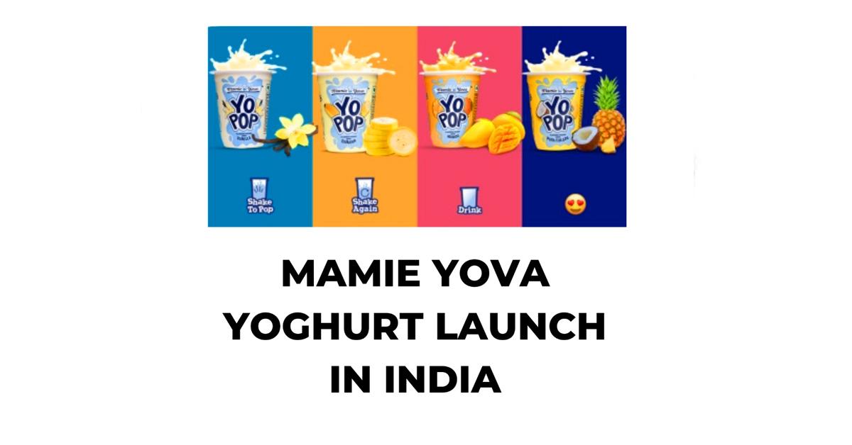 Mamie yova yoghurt launch