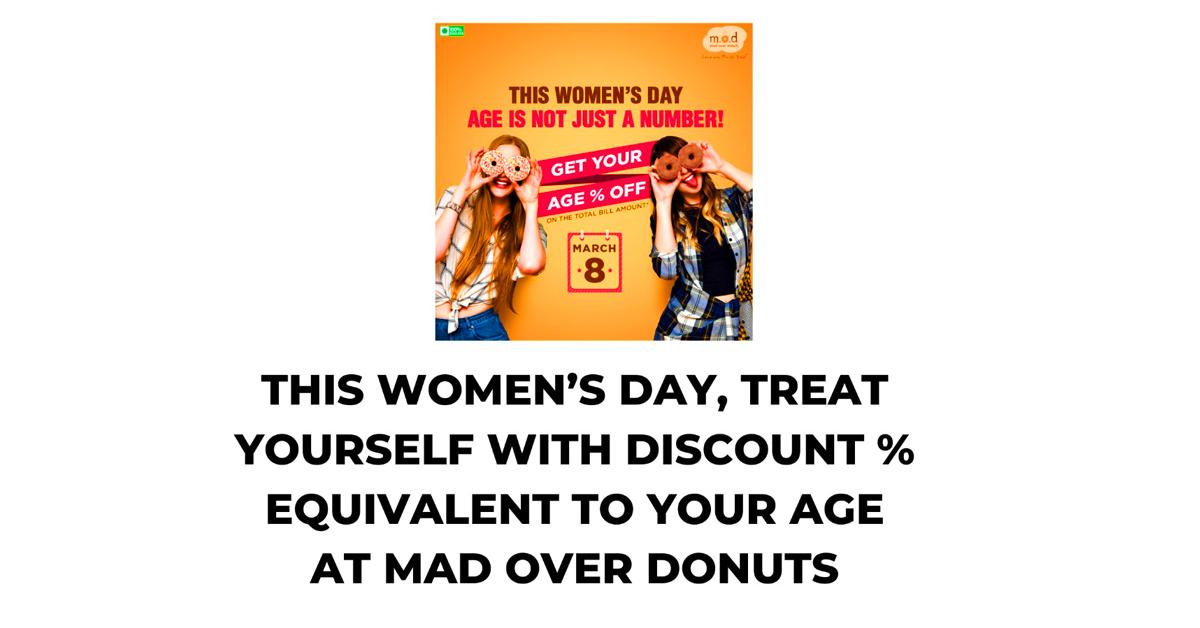 Womens day donuts