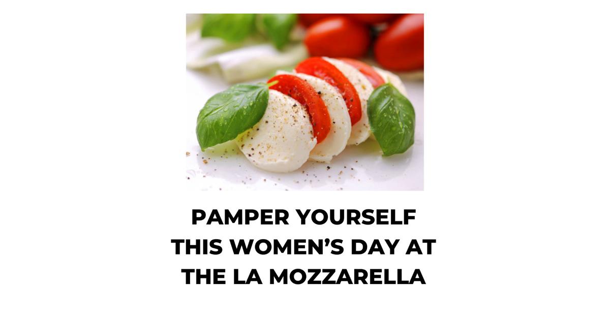 Womens day mozarella