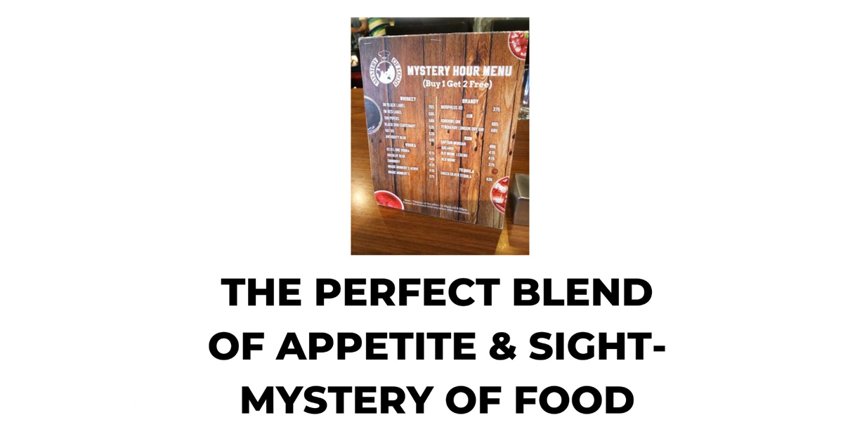 Mystery of food